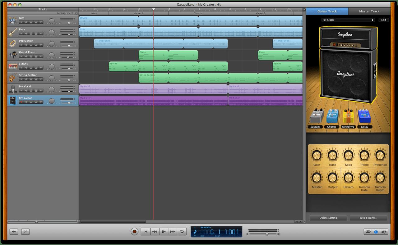 Mac 101 GarageBand  Apple Support