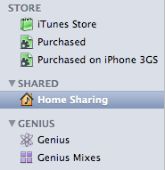 Home Sharing icon