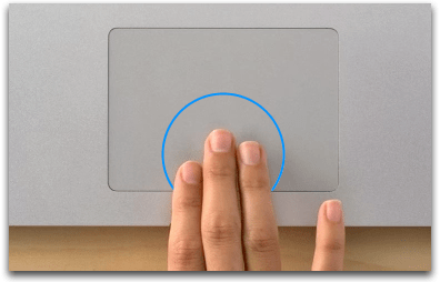 Mac Basics MultiTouch gestures  Apple Support