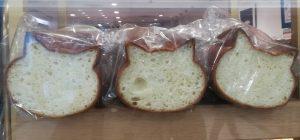 猫の形の食パン