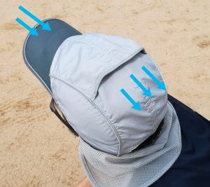 airpeak ランニング用帽子