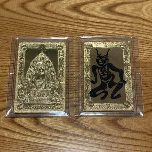 三千院 カード型仏像お守り