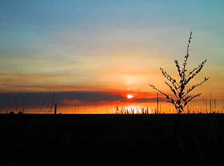 cheyenne sunset