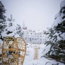 Stanley Hotel Winter