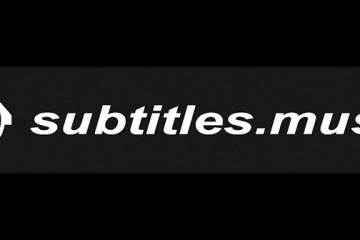 Subtitles Music logo