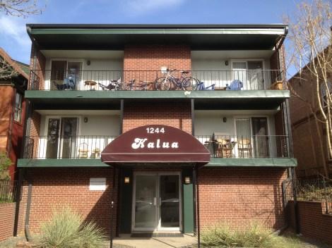 Denver Apartment Building Sold -- Capitol Hill