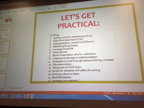 Lets Get Practical