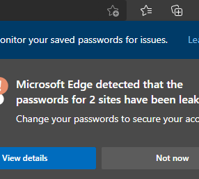 Microsoft Edge Browser – The New Password Monitor is a Game Changer!