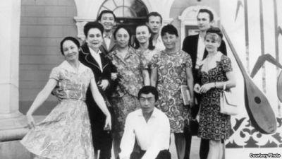 Опера жана балет театрынын жылдыздары. 1970-жыл, Фрунзе