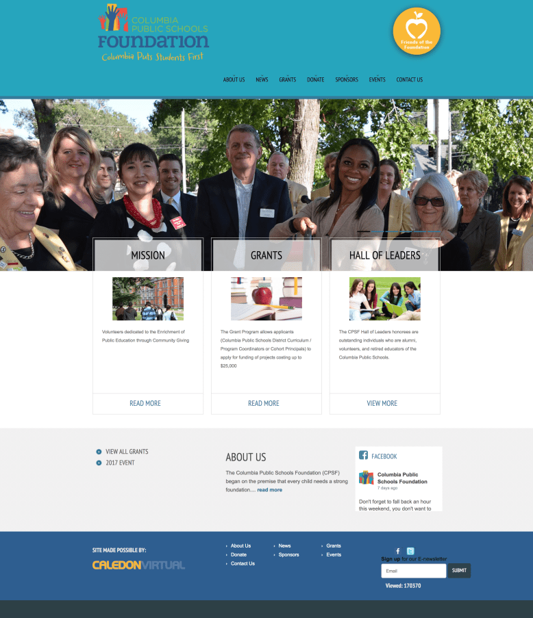 CPSF Website Home