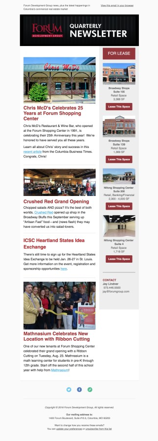 FDG ENews