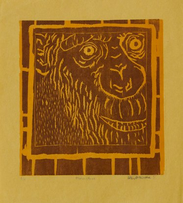 Monkey Face - Relief, 2011