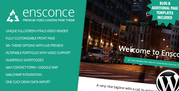Tema WordPress Ensconce