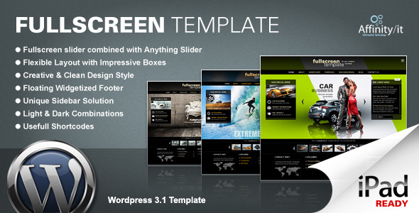 Tema WordPress Fullscreen