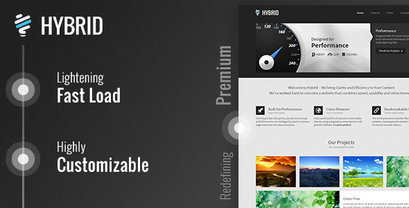 Tema WordPress Hybrid