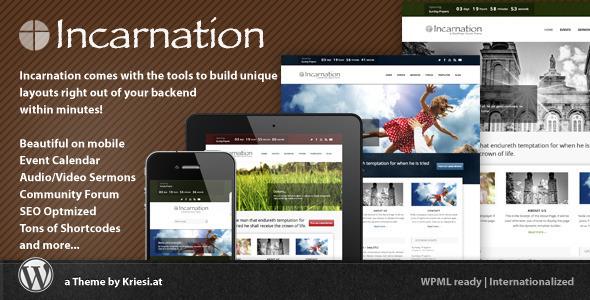 Tema WordPress Incarnation