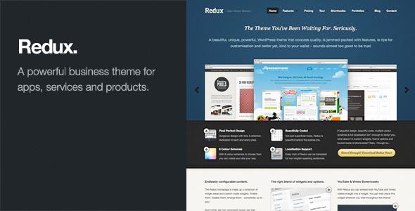 Tema WordPress Redux