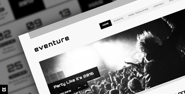 Tema WordPress Eventore
