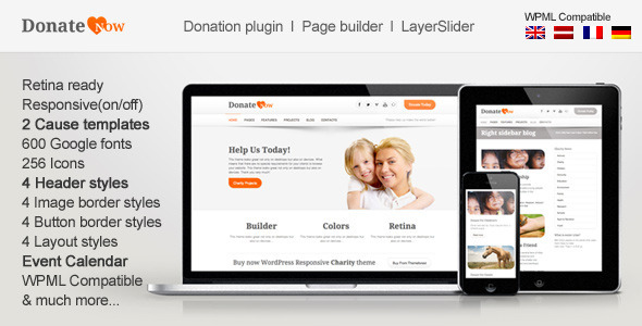 Tema WordPress DonateNow
