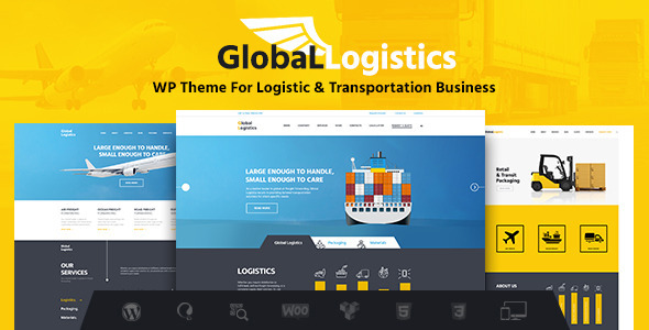 Tema WordPress Global Logistics