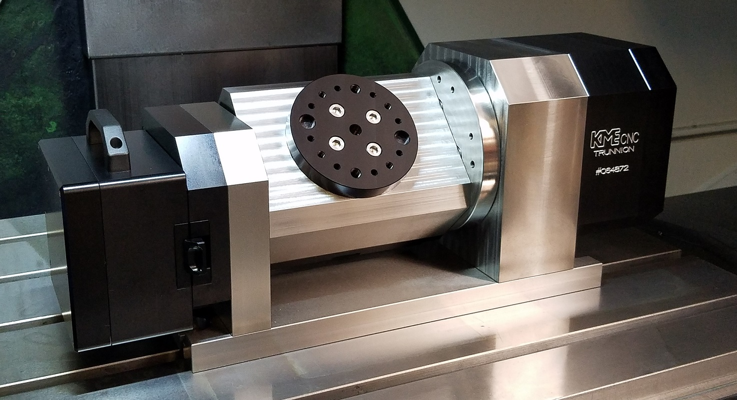 hight resolution of wireless 5 axis trunnion