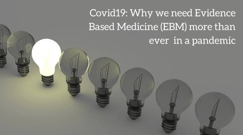 Evidence-based medicine and COVID-19: what to believe and when to change