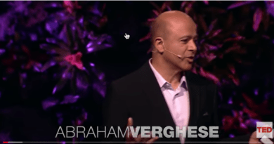 A doctors touch -Abraham Verghese Ted Talk