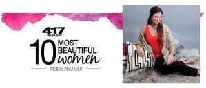 417 Magazine 10 Most Beautiful Women Award KM Guru Joplin MO
