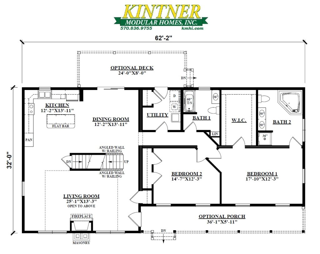 Log Cabin Modular Home - Kintner Modular Homes