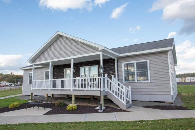 Ranch Modular Home 3 Bedrooms, Model #7