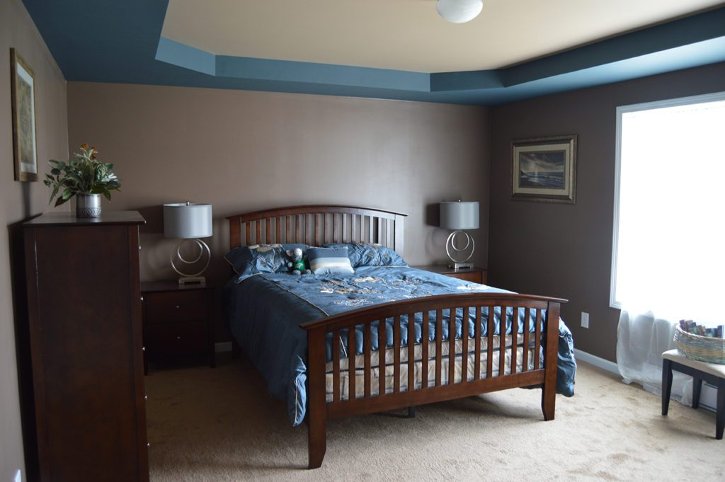 Ranch Modular Home, Bed Room