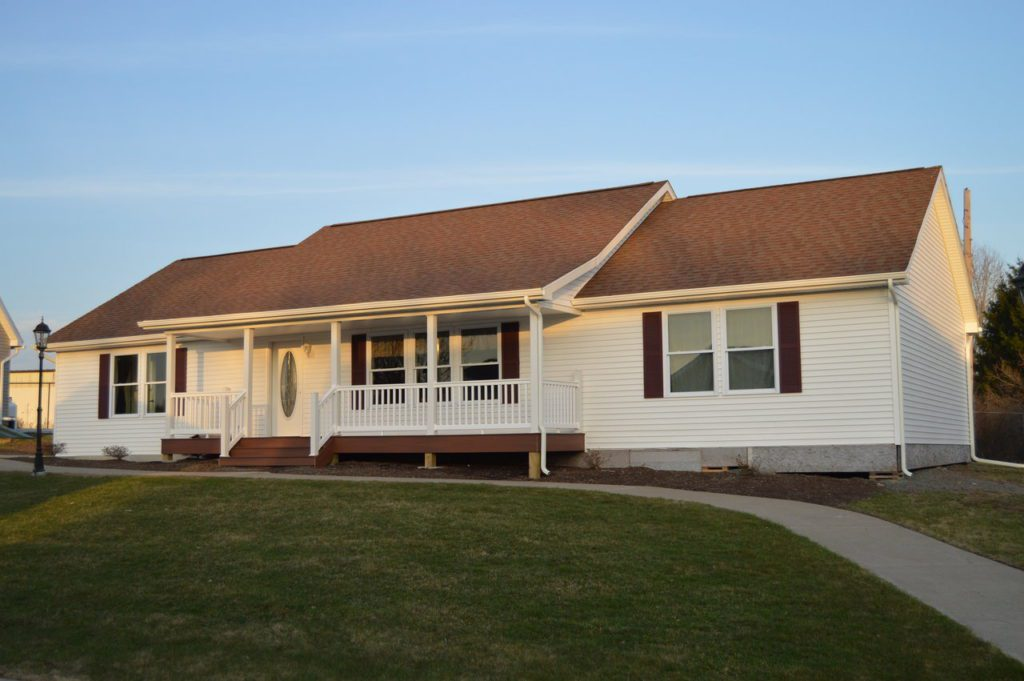 Ranch Modular Home, Model #4