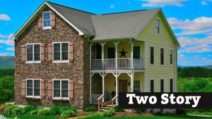 Two-Story Style Modular Home