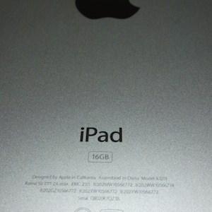 iPadセットアップ中