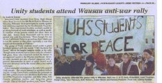 Leader article Wausau
