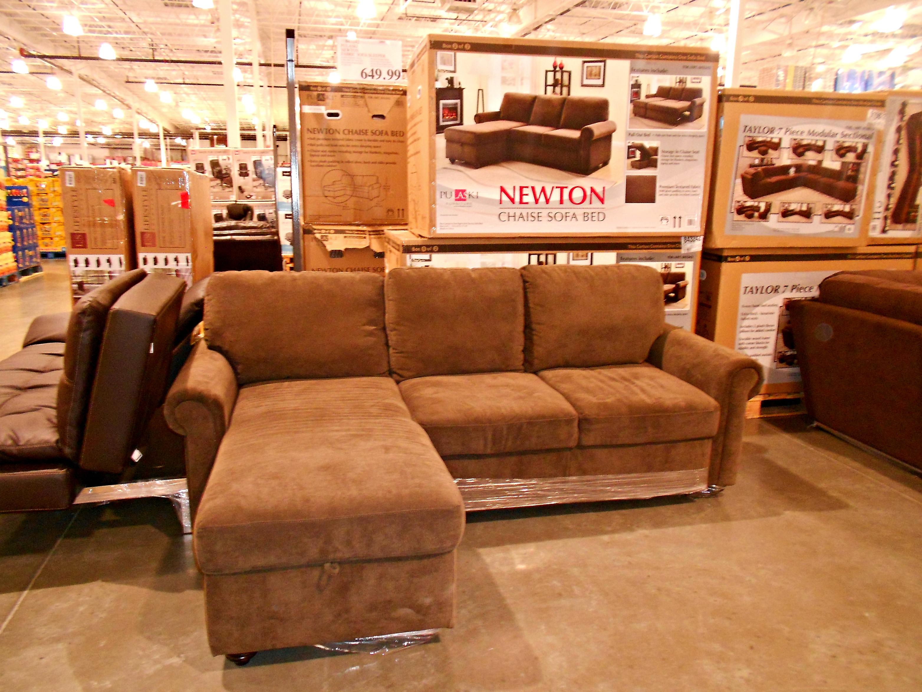 newton chaise sofa bed at costco 649