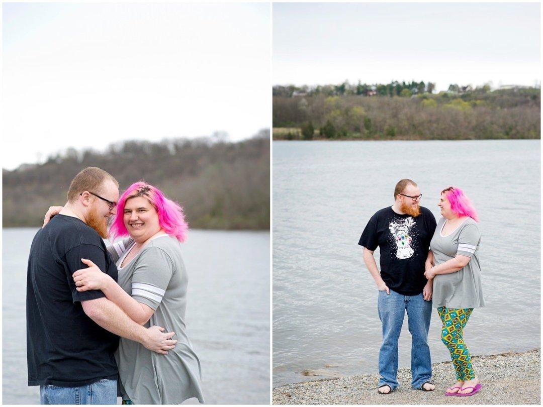 Berks County Wedding Photographe Blue Marsh Lake Engagement Photos | K. Moss Photography