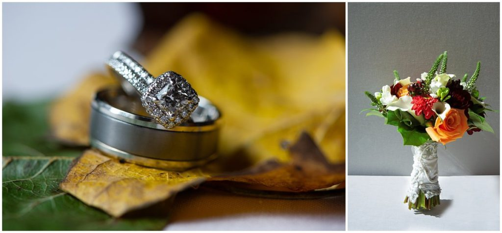 Barn at Flying Hills fall wedding | K. Moss Photography