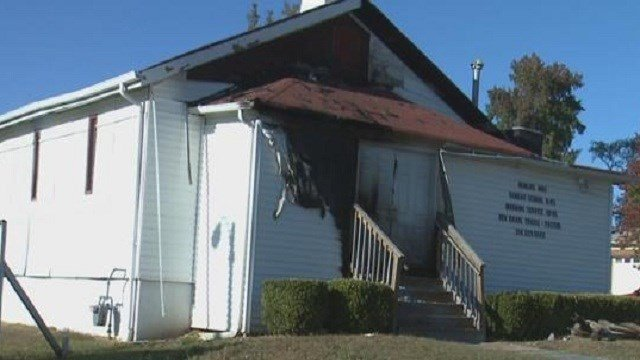 A fire was reported around 4:00 a.m. at the New Life Missionary Baptist Church on Plover Ave. on Saturday. This incident marks the fifth church set on fire this week.