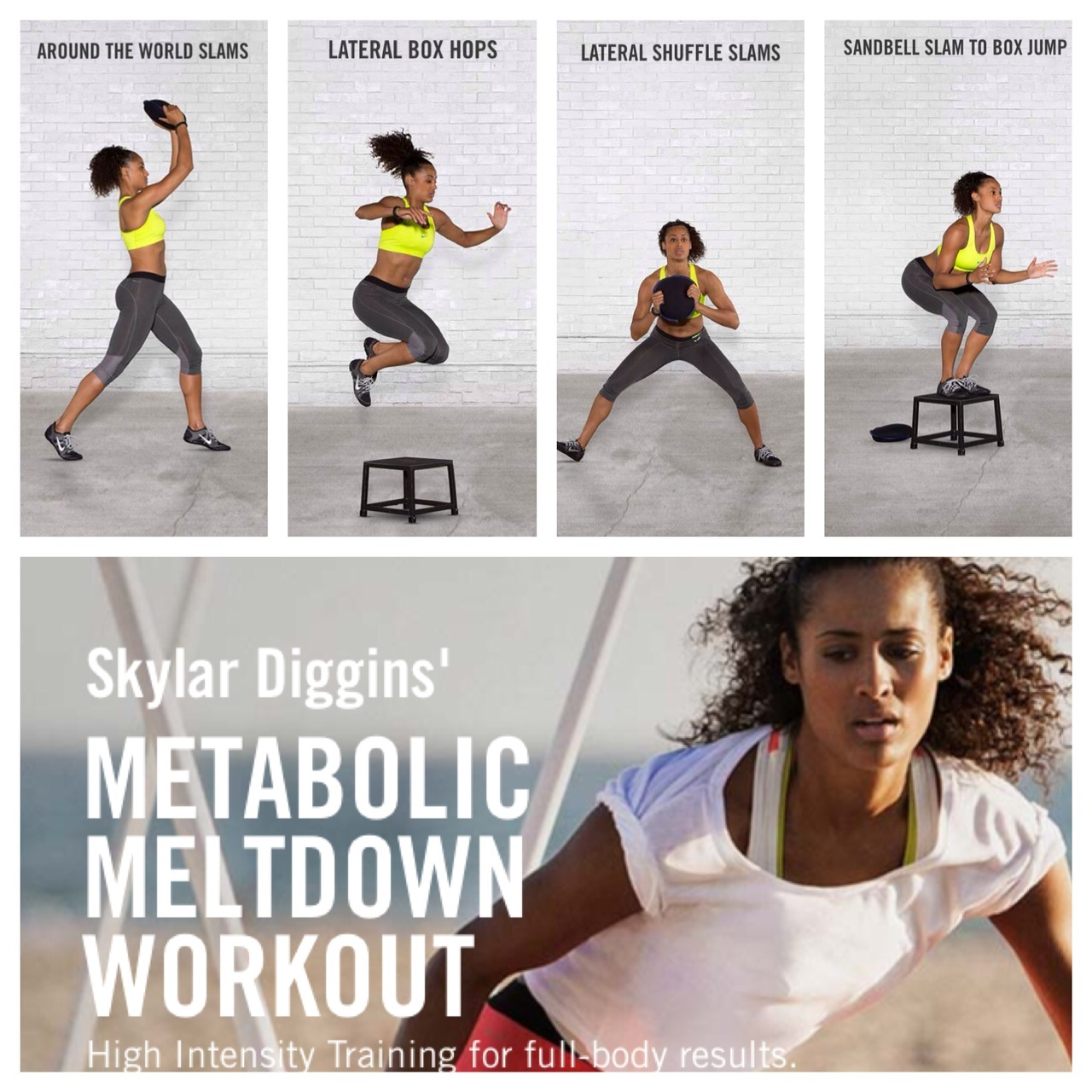 Skylar Diggins' HIIT Workout Now on Nike+ Training Club