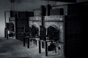 Verbrennungsöfen im neuen Krematorium