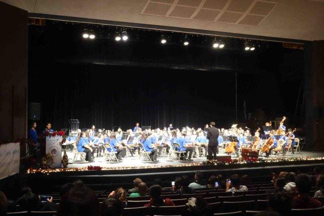 Concert Orchestra on stage