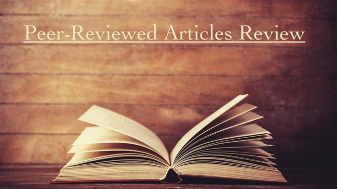 Peer-Reviewed Articles Review: Fall/Winter 2017/2018 (Part 1)