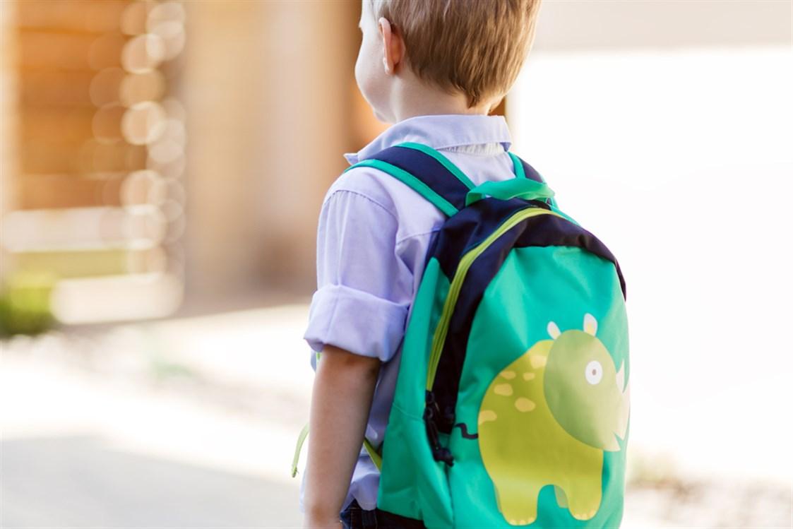 Sohati تأثير الحقيبة المدرسية على ظهر الطفل