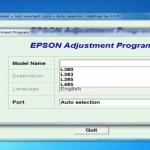 Reset Epson L380