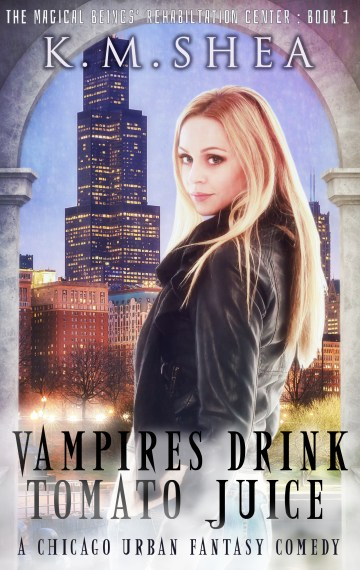 Vampires Drink Tomato Juice (The MBRC #1)