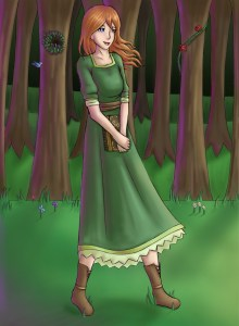 Briar Rose by Lunadragongirl