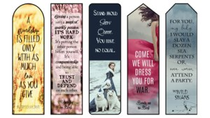 KM Shea Quote Bookmarks