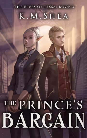 The Prince's Bargain (The Elves of Lessa #3)