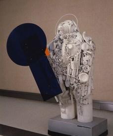 Paul Van Hoeydonck, Spaceman, Lukas-Art in Flanders, foto Hugo Maertens, © Sabam